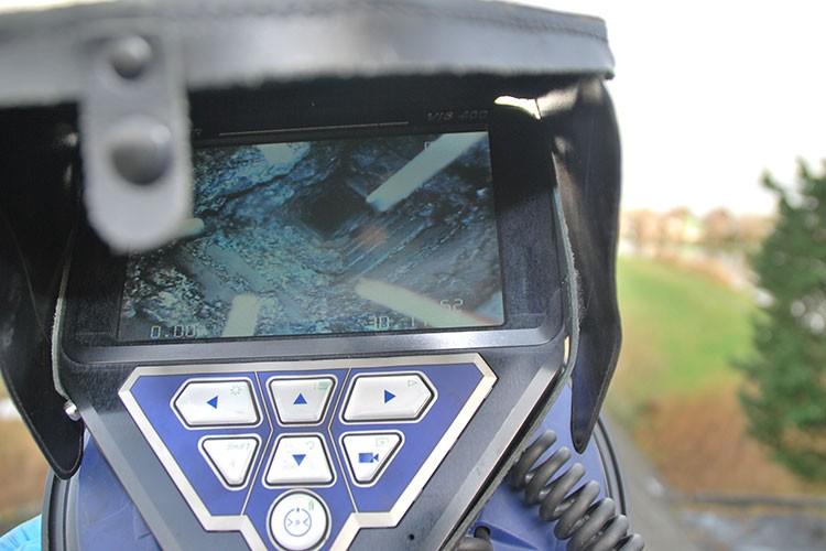 Camera inspectie Schoorsteen
