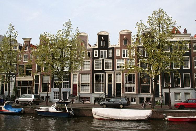 Schoorsteenwerkzaamheden Prinsengracht Amsterdam