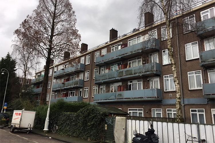 Renovatie 80 schoorstenen Amsterdam